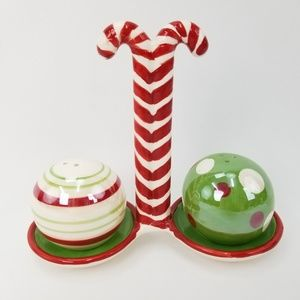 Other - Christmas Candy Cane Ornament Salt & Pepper Shaker